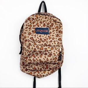 Jansport   Leopard Print Superbreak Backpack